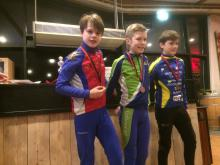 podium heren pupillen