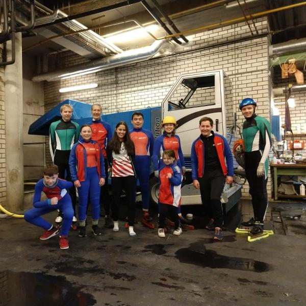 Shorttrack Beneluxcup 2019 groepsfoto team IJCE